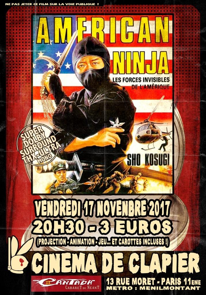 Affiche 33 American Ninja